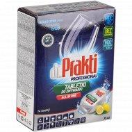 Таблетки для посудомоечной машины «Dr. Prakti» лимон, 30+5 шт.