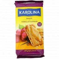 Сдобное печенье «Karolina» с виноградом и ванильным ароматом, 225 г.