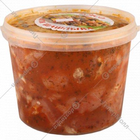 Шашлык «Нежный» из свинины мелкокусковой, замороженный, 2 кг.