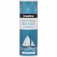 Соль морская «Setra» мелкая, йодированная, 250 г.