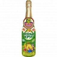 Напиток сокосодержащий «Белый виноград» газированный, 0.75 л.