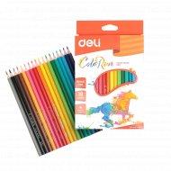 Карандаши цветные «Deli» ColorRun, 18 цветов