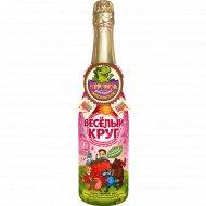Напиток «Весёлый круг» садовая земляника 0.75 л.