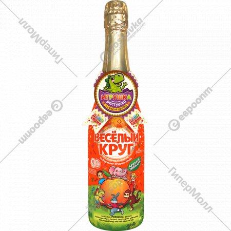 Напиток «Весёлый круг» красный апельсин 0.75 л.