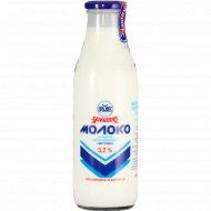 Молоко пастеризованное «Вкусное» 3.2%, 730 мл.