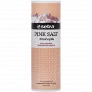 Соль розовая «Setra» мелкая солонка, 250 г.