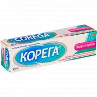 Крем для фиксации зубных протезов «Корега» Защита Десен, 40 г.