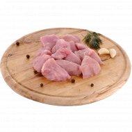 Полуфабрикат из мяса индейки «Гуляш из мяса индейки» 1 кг., фасовка 0.6-0.9 кг