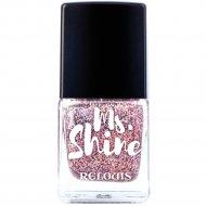 Лак для ногтей «Ms. Shine» тон 7, holo lilak, 6 мл.