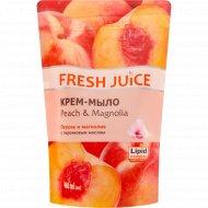 Крем - мыло с персиковым маслом «Fresh Juice», 460 мл.