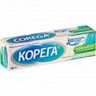 Крем для фиксации зубных протезов «Corega» освежающий вкус, 40 г.