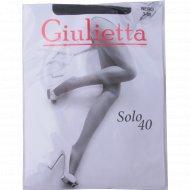 Колготы женские «Giulietta» solo, 40 den, nero.