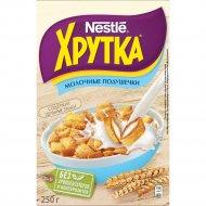 Готовый завтрак «Хрутка» мультизлаковые подушечки с молочной начинкой, 250 г.