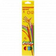 Набор цветных карандашей «Каляка маляка» 6 цветов.