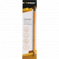 Набор карандашей «Design» чернографитных, 6 шт.