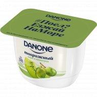 Продукт творожный «Данон» с киви и виноградом, 3.6%, 170 г.