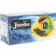 Чай чёрный байховый «Jambo» 20х1.2 г.