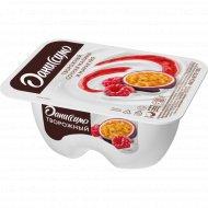 Продукт творожный «Даниссимо» сочная малина и маракуйя, 5.6%, 100 г.