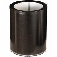 Корзина для бумаг «Титан Мета» 250, низкая, черный