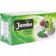 Чай зелёный байховый «Jambo» 20х1.2 г.