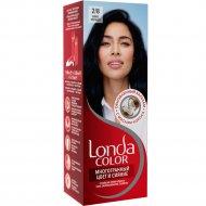 Крем-краска для волос «Londa color» сине-черный, тон 2.8.