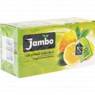 Чай чёрный байховый «Jambo» с ароматом лимона, 20х1.2 г.