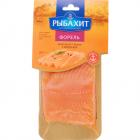 Форель атлантическая «РыбаХит» филе кусок с кожей солёная, 200 г.