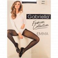 Колготки женские «Gabriella» Emma, 30 den, размер 3, Nero