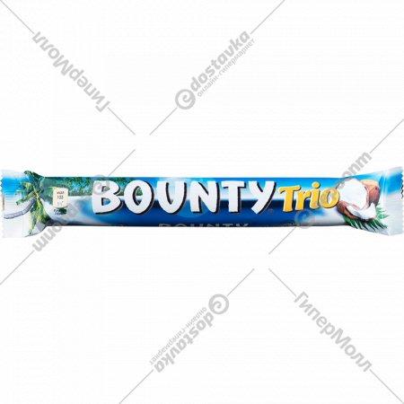Конфета «Bounty» Trio, 82.5 г., 3 шт х 27.5 г.