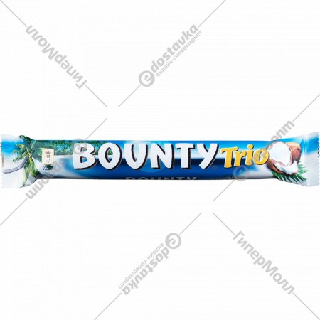 Конфета «Bounty» Trio, 82.5 г, 3 шт х 27.5 г.