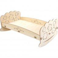 Конструктор «Polly» Кроватка для пупсов.