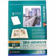 Бумага самоклеящаяся «Lomond» 25 листов, 2210003