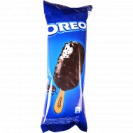 Мороженое «Oreo» с дроблёным печеньем в глазури с печеньем, 62 г.