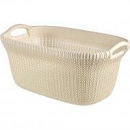 Корзина «Curver» knit laundry basket, 228393, 40 л, 270x595x385 мм.