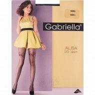Колготки женские «Gabriella» Alisa, 20 den, размер 4, Nero