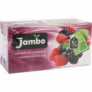 Чай черный «Jambo» Лесные Ягоды, 20х1.2 г