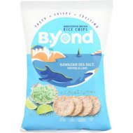 Чипсы «B.Yond» со вкусом гавайской морской соли, перца и лайма, 70 г.