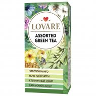 Чай зеленый «Lovare» ассорти, 24х2 г.