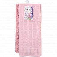 Набор полотенец «Spany» вафельное 35х60 см, махровое 30х60 см, 2 шт