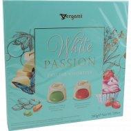 Пралиновые конфеты «Ассорти» белый шоколад, 200 г.