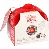 Конфеты «Клюква в шоколадной глазури с кокосом» 100 г.