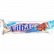 Вафельный батончик «Vitbaby» с воздушным рисом в молочной глазури 38 г.