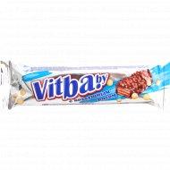 Вафельный батончик «Vitbaby» с воздушным рисом в молочной глазури, 38 г.