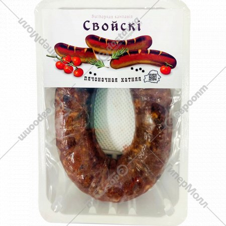 Колбаса сырая «Печеночная» охлажденная, 1 кг., фасовка 0.42-0.52 кг