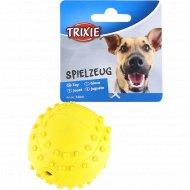 Игрушка из каучука для собаки «Trixie» мяч, со звуком, 6 см.