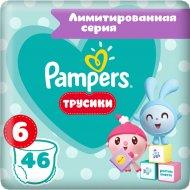Трусики «Pampers» 15+ кг, размер 6, 46 шт.