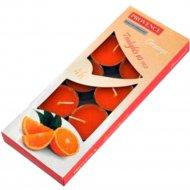 Набор свечей ароматизированных «Provence» апельсин, 1.5х4 см, 10 шт.