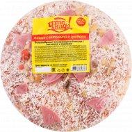 Пицца «Что надо!» с ветчиной и грибами, замороженная, 300 г