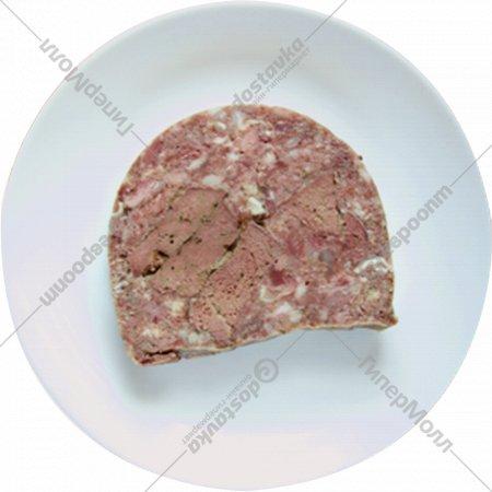 Продукт слоеный «Рулет с печенью» в вакуумной упаковке, 1кг., фасовка 0.25-0.35 кг