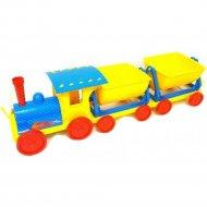 Игрушка «Поезд с двумя прицепами» 013118/1.